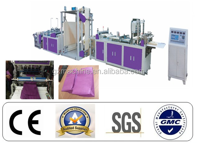 CE fully automatic non woven shopping bag making machine price