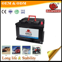 12v 100ah low price rechargeable global car Auto Electrical System Batteries