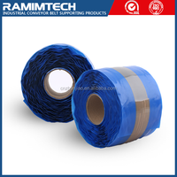Non-Flame without fiber CN layer cold-cured reinforced repairing thick rubber band for conveyor belts