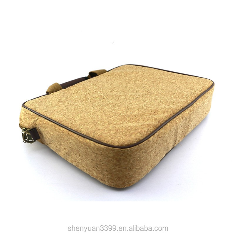 Eco-friendly men business fashion laptop briefcase craft paper bag