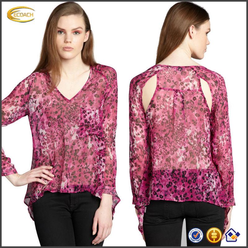Розовые Шелковые Блузки