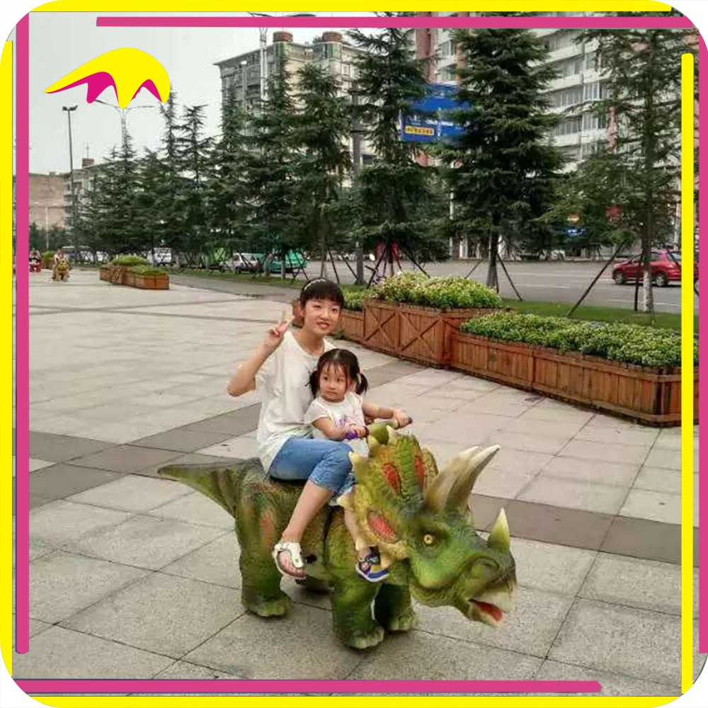 KANO3494 Jurassic Parties Fantastic Real Size Interactive Outdoor Animal Riding Toy