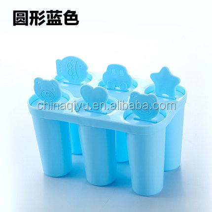 DIY Creative Plastic Custom Popsicle Mould