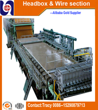 Brown cement paper bag production line, high speed food package kraft paper bag making machine price
