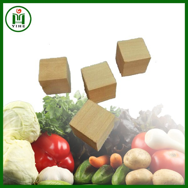 Natural Unfinished wooden cubes