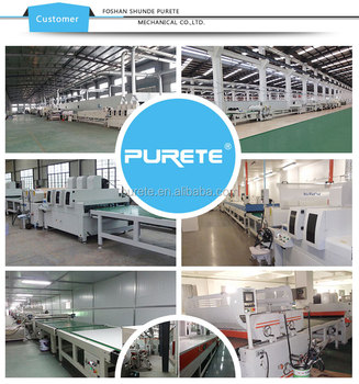 Marble Fiber Cement Board UV Roller Coater Production Line