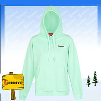 JHDM-610-2 juniors/ladies fluoro hoodie with pull over
