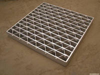 Hot-dipped galvanized,Painted,Untrea Plain Serrated bolt fixed type steel grate factory