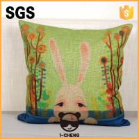 home decoration printed floor flat cushion cover for chair seat
