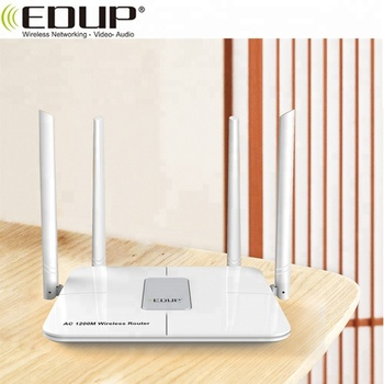 Long Range 1200Mbps 2.4G/ 5G WiFi Wireless Router for Wide Coverage