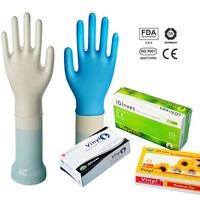 Vinyl Medical Examination Gloves Sterile Amp