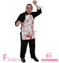 Halloween Horror Fabric Novelty Apron Movie Costume