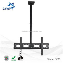 "Hotel Hospital Use Ceiling TV Lift Mount Height Adjustable And Tilt Up to 65""Inch"
