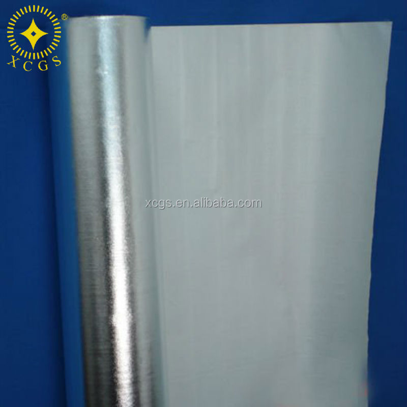Moisture barrier waved aluminium foil