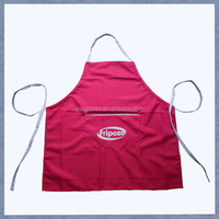 Wholesale Red Pizza Stylist Apron