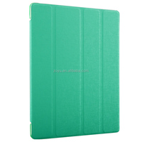 PU leather flip cover case for apple ipad 4 with stand