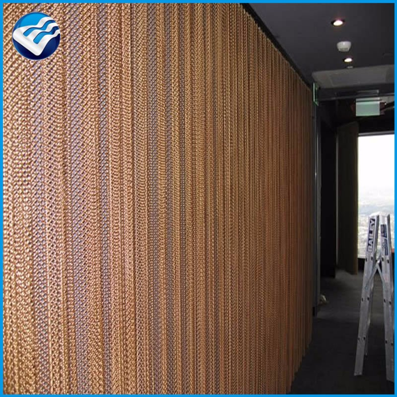 fashionable architectural decorative metal drapery