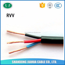 pvc cover rvv electric wire 1.5mm 2.5mm