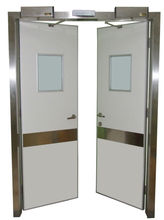 Timber Medical Door