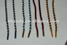 Nylon elastic jacquard color wheel shoelaces