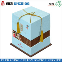Hot sale special festival design paper gift box
