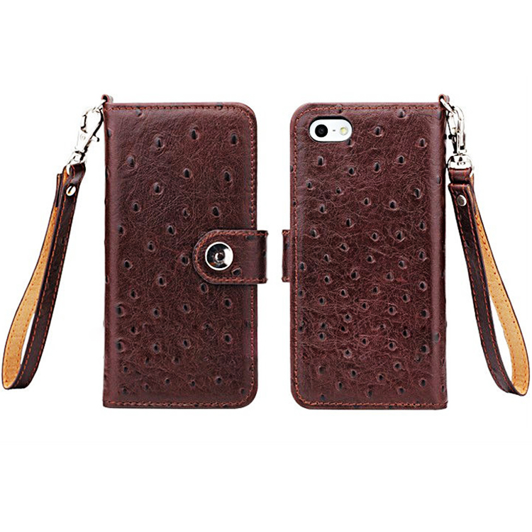 New arrival wallet style animal shaped phone case for Iphone 5 wholesale