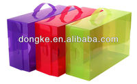 CHINA wholesale new design plastic shoe box containers with high quality