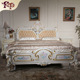 OEM Europe beds china factory wholesale , 2016 white luxury furniture super king size rubber wood beds