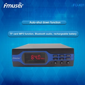 FU-X01A 1W FM Transmitter Standard Configuration Upgraded 1 watt FM radio broadcaster User-friendly and Easy Operating