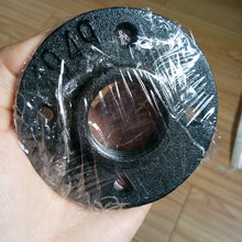 "Good quality 1/2"" 3/4"" black cast iron pipe fitting floor flange"