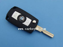 Folding Flip Key Case Refit BM 3 5 7 SERIES Z3 Z4 E38 E39 E46 Remote Case Fob