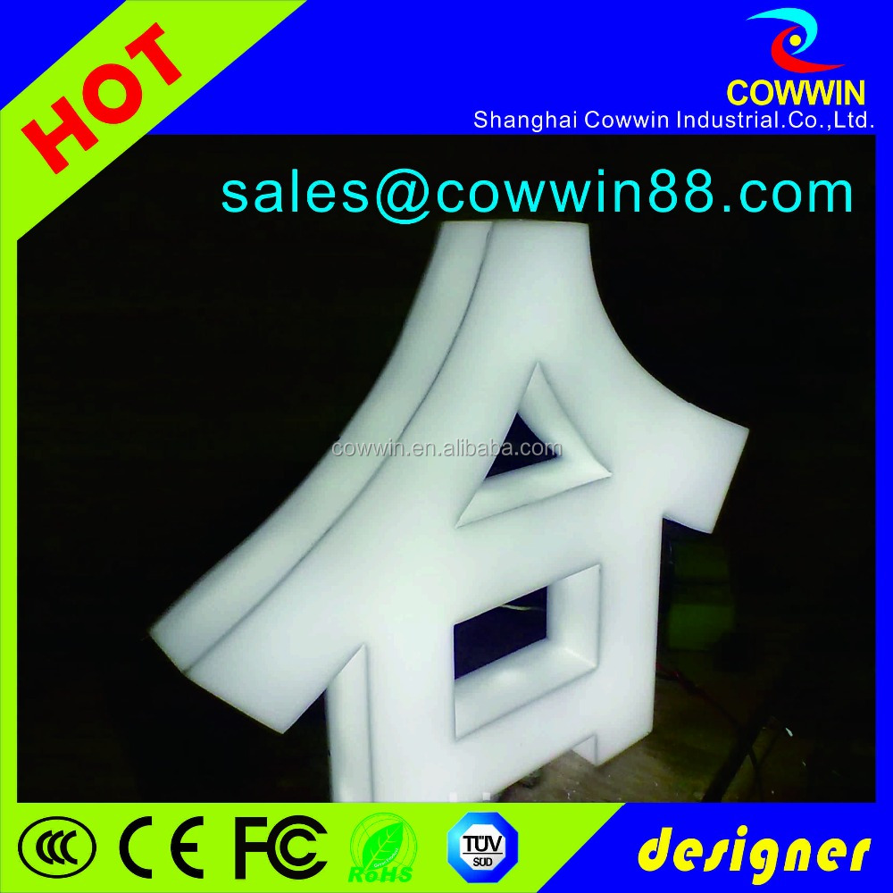 acrylic authorization letter/outdoor clear acrylic letters price