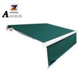 The digital aluminum remote control awning foldable arm with led door awning