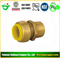 Male Adapter Lead Free cUPC NSF quick connect with PEX COPPER CPVC pipe