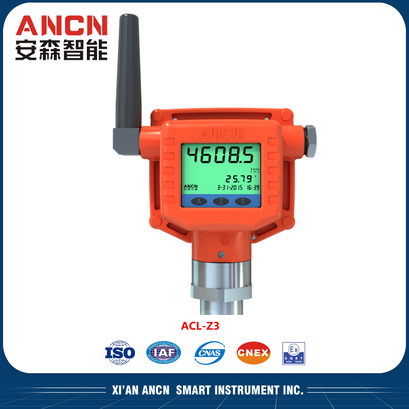 Wireless Magnetostrictive Content Gauge