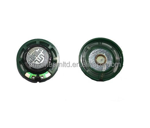 27 x 7(H)mm 0.25W Outer Magnet 18mm Plastic Frame, Plastic Cone RM27H716DJ18 27MM Toy Speaker