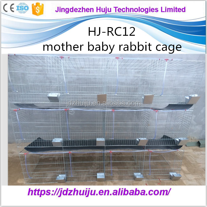 Factory industrial rabbit house / commercial rabit cage for sale in kenya farm