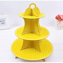 Hot sale 3 tier cake stand for cupcake stand , cup cake stand