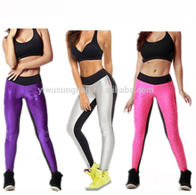 High Quality Women's Bling joint hot sell yoga <strong>sports</strong> outside pants