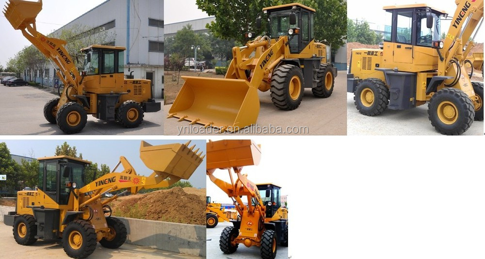 Shandong 1.5 tons high performance articulated backhoe loader with best price
