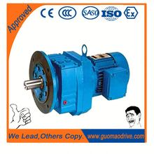 Worm gear reducer hot sales low noise high effect dc helical gearmotor