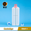 50ml 1:1 Disposable Plural Component Dental Silicone Cartridge For Impression Material