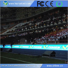 multi use large scoreboard advertising football stadium perimeter led screen display