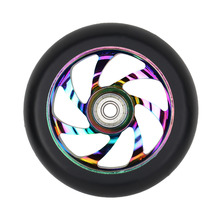 Vokul Scooter Parts Freestyle Scooter wheel Pro Kick Scooter Wheel CNC Alloy SHR PU