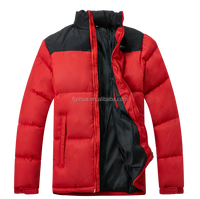 New winter men's Short paragraph Slim collar cotton padded jacket