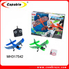 2.4G 2channel airplane toy aerodone rc glider for sale