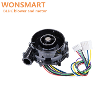 24v blower fan with DC brushless motor fan