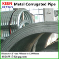 Apply For Storm Sewers Or Bridges Corrugated Galvanized Steel Culvert Pipe