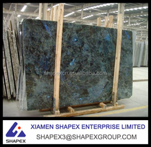 Hot selling Brazilian labradorite blue granite slab