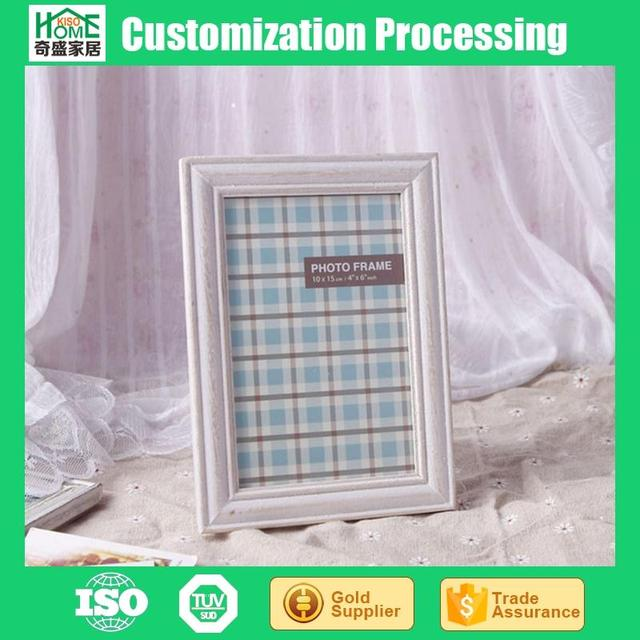 Factory Direct Paper Package 6 inch Rectangle Art Wood Frame